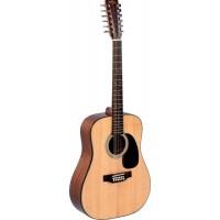 SIGMA DM12-1ST- двенадцатиструнная гитара