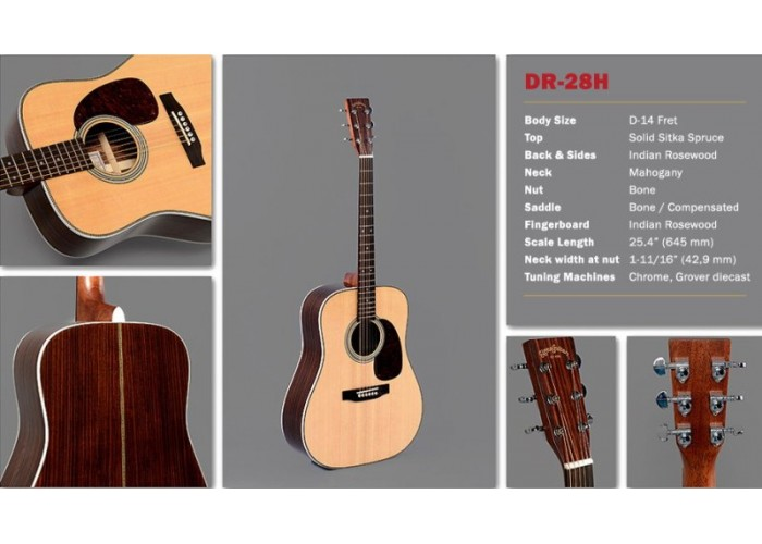SIGMA DR-28H - акустическая гитара