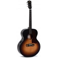 Sigma GJM-SGE+ - Электроакустическая гитара