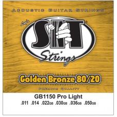 SIT GB1150 GOLDEN BRONZE - струны для акустической гитары