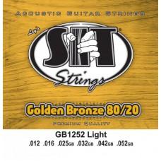 SIT GB1252 GOLDEN BRONZE - струны для акустической гитары