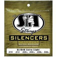 SIT GL1048 SILENCERS - струны для акустической гитары