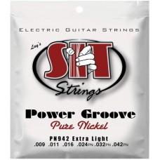 SIT PS942 POWER STEEL - струны для электрогитары