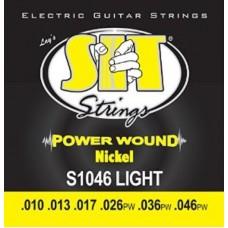 SIT S1046 POWER WOUND - струны для электрогитары