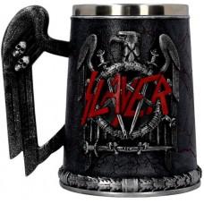Slayer Tankard 14cm 16x9.5x145. holds 600ml Сувенирная кружка Slayer, лицензионная сувенирная продук