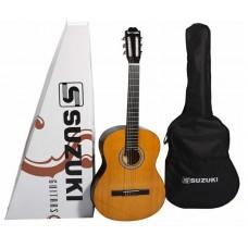 Suzuki SCG-2S+3/4 NL классическая гитара размер 3/4, чехол в комплекте