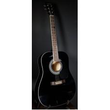 Suzuki SDG-6 BK акустическая гитара, чехол