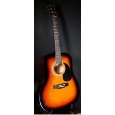Suzuki SDG-6 BS акустическая гитара, чехол