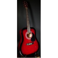 Suzuki SDG-6 RDS акустическая гитара, чехол