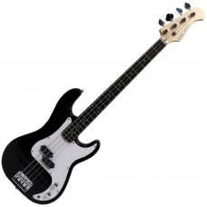 Suzuki SPB-5 BK бас-гитара, Precision, чехол, кабель, ремень