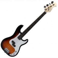 Suzuki SPB-5 BS бас-гитара, Precision, чехол, кабель, ремень