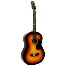 """Suzuki SSG-6 SB акустическая гитара , размер 4/4 (39""""), чехол в комплекте"""