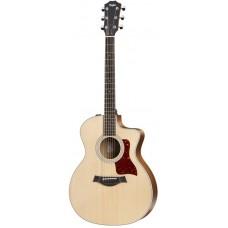 TAYLOR 214ce 200 Series электроакустическая гитара Grand Auditorium, жесткий чехол