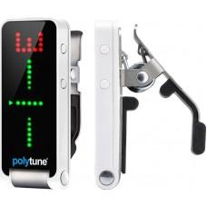TC ELECTRONIC PolyTune Clip полифонический тюнер-прищепка, цвет серебристый