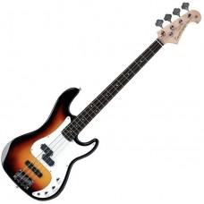 TENSON CALIFORNIA PJ Standard 3-tone Sunburst - бас-гитара