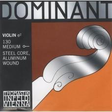 Thomastik 130 Dominant Отдельная струна E/Ми для скрипки размером 4/4, среднее натяжение