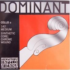 Thomastik 142 Dominant Отдельная струна А/Ля для виолончели размером 4/4
