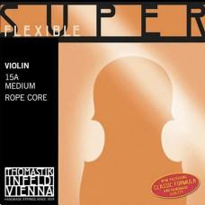THOMASTIK 15A Super Flexible Комплект струн для скрипки размером 4/4, среднее натяжение