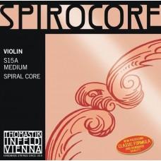 THOMASTIK S15A Spirocore Комплект струн для скрипки размером 4/4, среднее натяжение