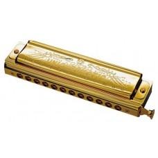 TOMBO Unichromatic С (1248SG-C) Губная гармошка, золото