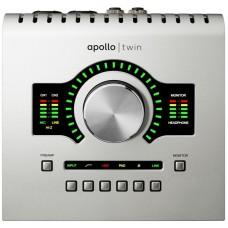 Universal Audio Apollo Twin USB Настольный Аудиоинтерфейс c DSP для PC, USB 3.0