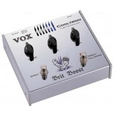 VOX COOLTRON BRIT BOOST ламповая педаль эффекта Brit Boost
