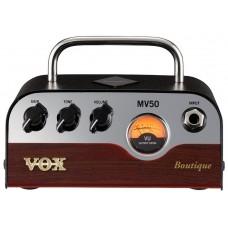 VOX MV50-BQ мини усилитель голова для гитары с технологией Nutube, 50 Вт (Boutique)