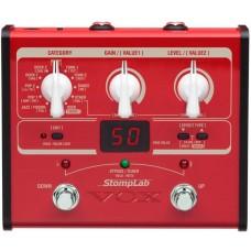 VOX STOMPLAB 1B процессор эффектов для бас-гитары