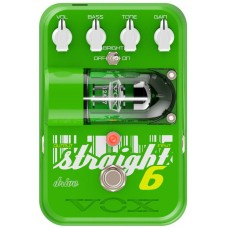 VOX TG1-ST6OD STRAIGHT 6 DRIVE ламповая педаль эффектов овердрайв