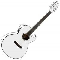 WASHBURN EA20VT WH - электроакустическая гитара, Виктор Цой