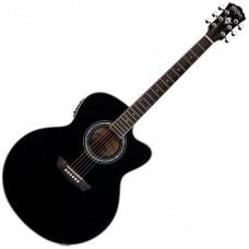 WASHBURN WJ5SCE-B Jumbo - электроакустическая гитара