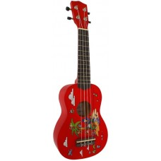WOODCRAFT UK-300/RD - укулеле (гавайская гитара)