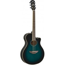 YAMAHA APX600 Oriental Blue Burst электроакустическая гитара