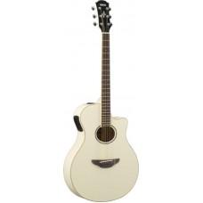 YAMAHA APX600 Vintage White электроакустическая гитара