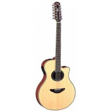 YAMAHA APX700II-12 Natural 12-струнная электроакустическая гитара с вырезом