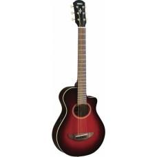 YAMAHA APXT2 Dark Red Burst электроакустическая гитара уменьшенного размера