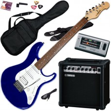 YAMAHA EG112GPII METALLIC BLUE - Набор электрогитара + комбик + аксессуары