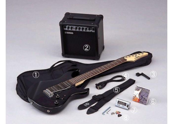YAMAHA ERG121GPII - комплект гитариста, гитара, комбик, чехол и аксессуары