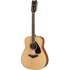 YAMAHA FG820-12 Natural 12-струнная акустическая гитара