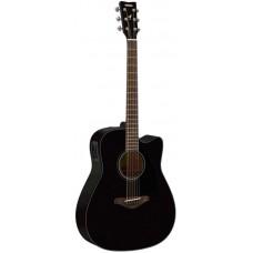 YAMAHA FGX800C Black электроакустическая гитара
