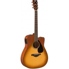 YAMAHA FGX800C Sand Burst электроакустическая гитара
