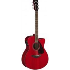 YAMAHA FSX800C Ruby Red электроакустическая гитара