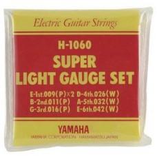 YAMAHA H1060 струны для электрогитары 09-42