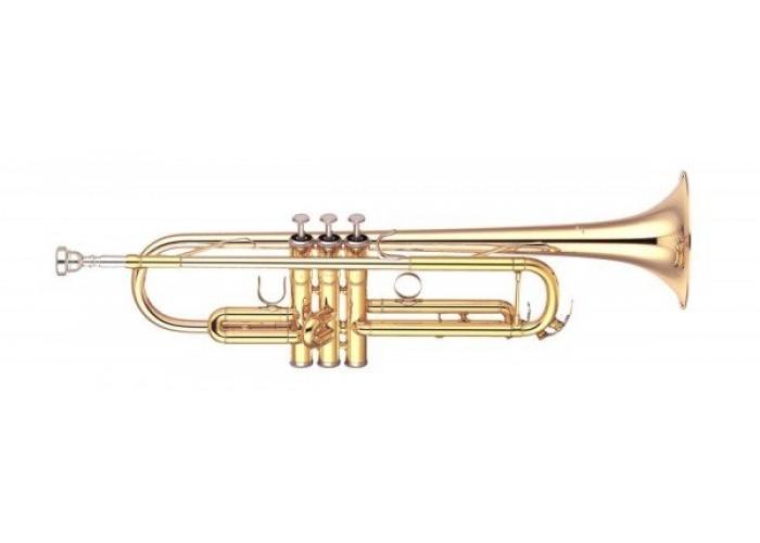 YAMAHA YTR-4335G - труба Bb, полупрофессиональная модель, строй Си-бемоль, томпаковый раструб