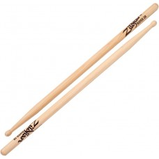 ZILDJIAN SUPER 5B барабанные палочки с деревянным наконечником, орех