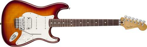 электрогитара FENDER Standard Series Stratocaster HSS Plus Top